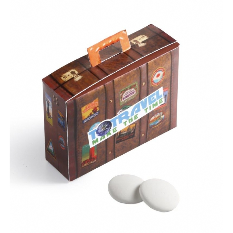 Reiskoffer met muntjes