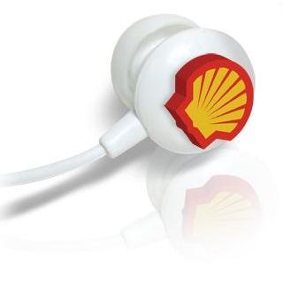 3D logo oortelefoon