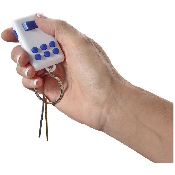 Flip en klik sleutelhanger met lampje