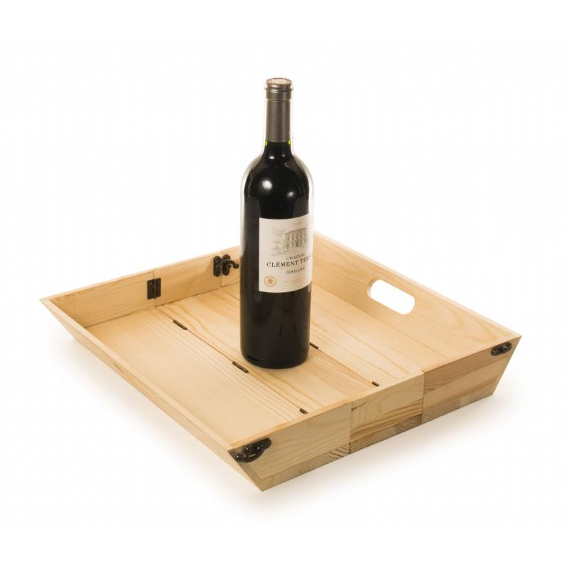 Tray Chique wijnbox en dienblad