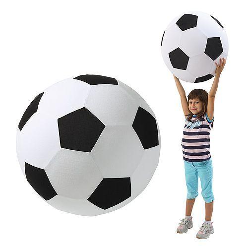 Gigantische voetbal
