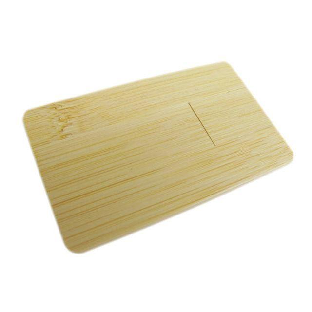 Super platte USB stick in hout