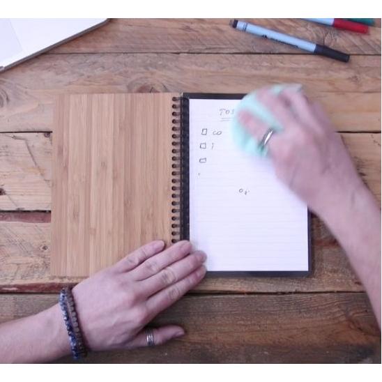 Stop papierverspilling met dit schrift