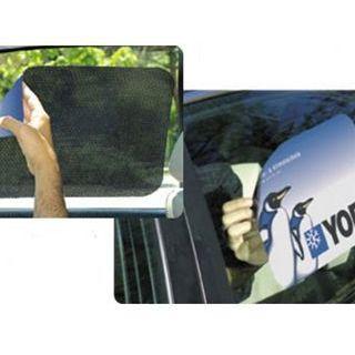 Elektrostatisch zonnescherm voor auto