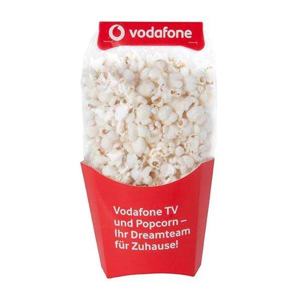 Klaargemaakte popcorn