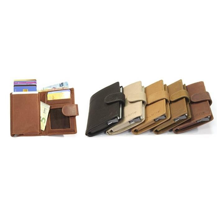 Lederen Figuretta  RFID card protector