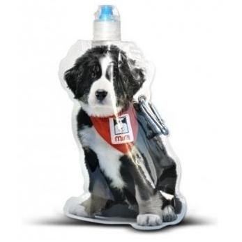 Waterfles in de vorm van een hondje