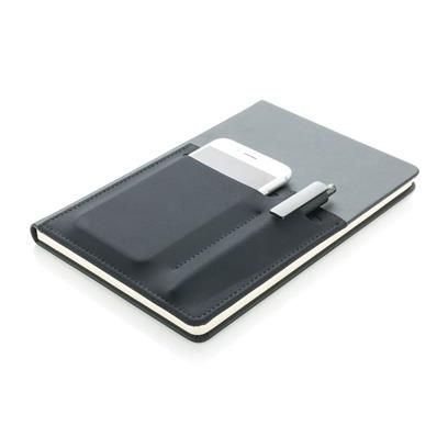 A5  notitieboek met opbergvakken
