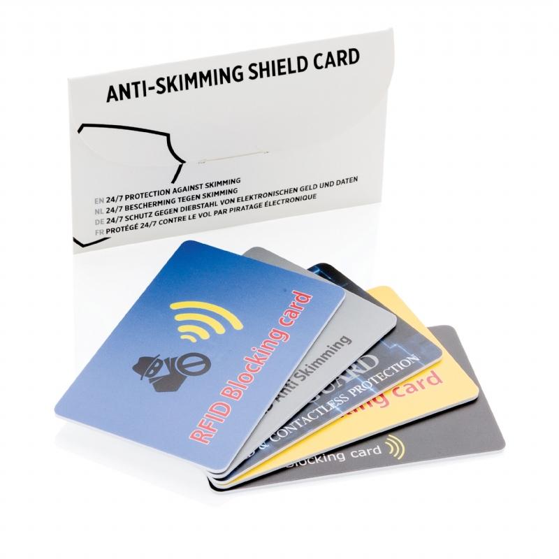 beschermkaart tegen elektronisch RFID zakkenrollen