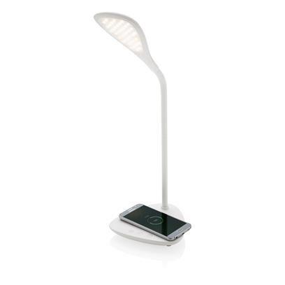 Bureaulamp met draadloos oplaadstation