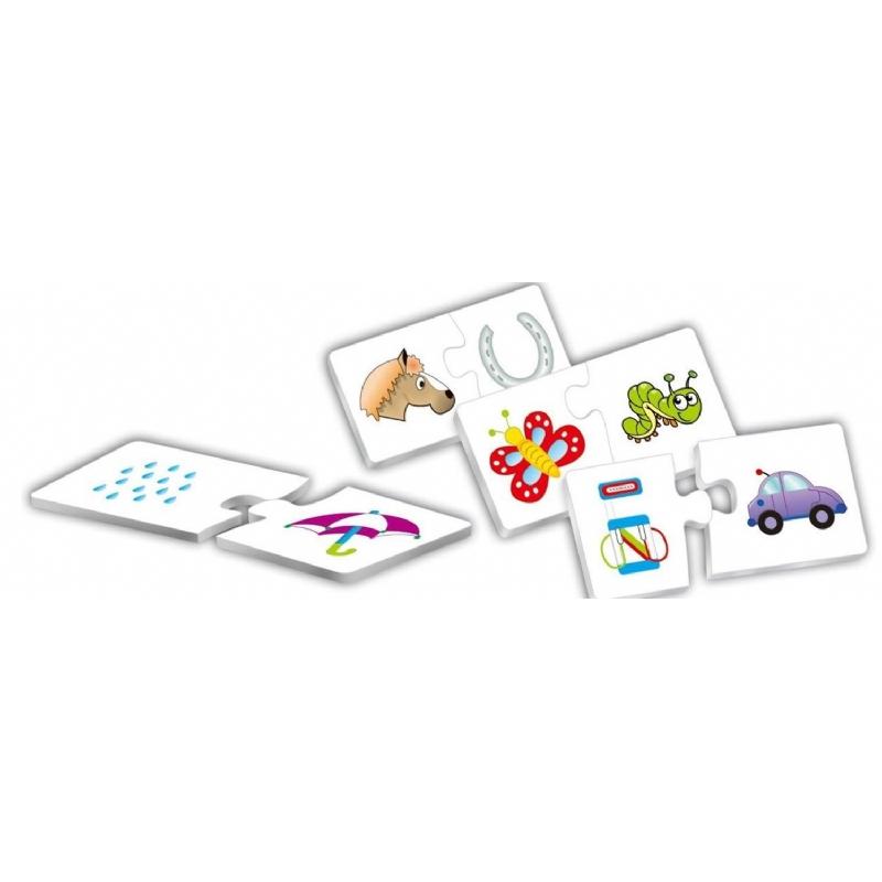 Educatieve 30 stuks puzzel op maat