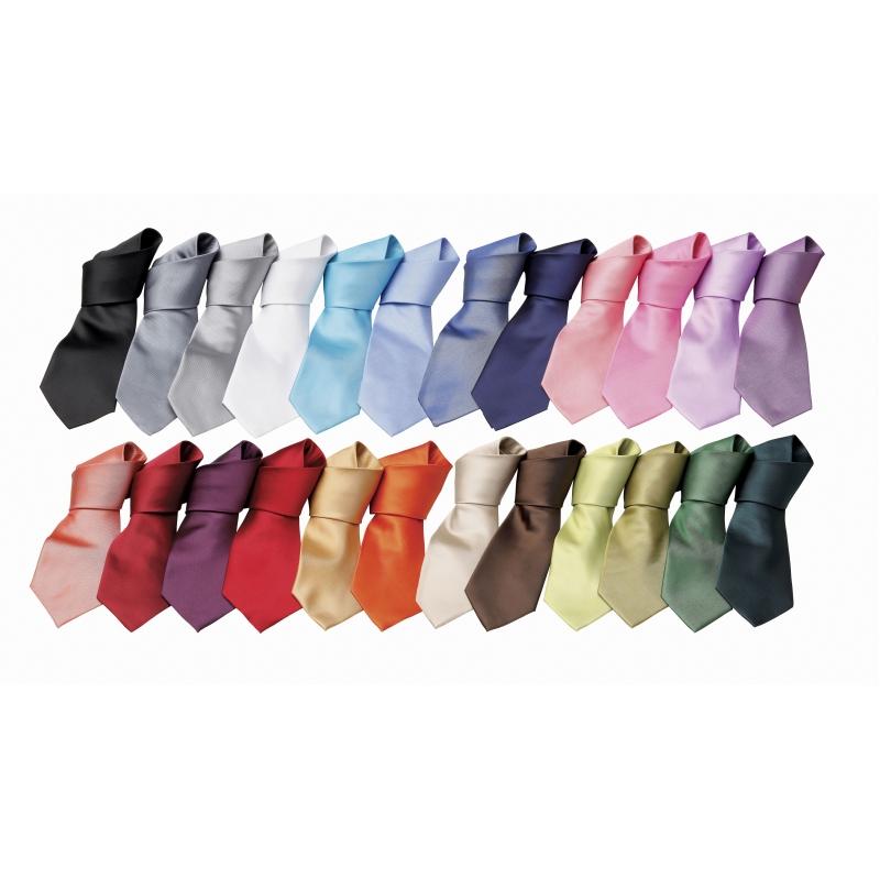 Polyester Stropdas in 24 kleuren