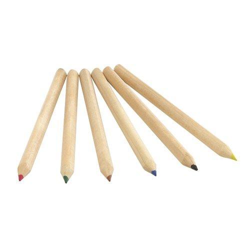6 delig set jumbo potloden