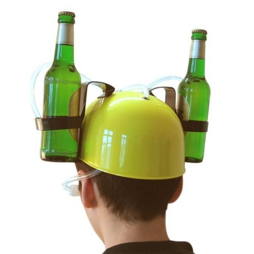 Drankhouder in vorm van helm