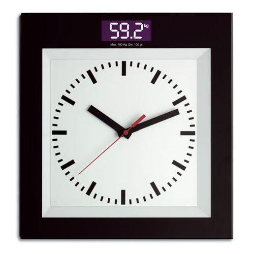 Digitale personenweegschaal met klok