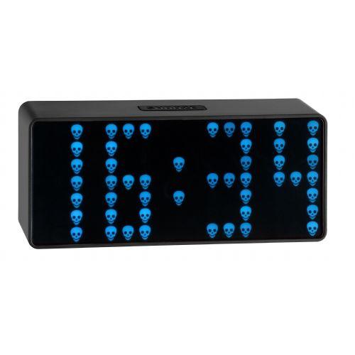 Klok met LED's in eigen vorm
